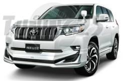 Обвес кузова аэродинамический. Toyota Land Cruiser Prado, GDJ150W, TRJ150W, GDJ151W, GDJ150L, TRJ12, GRJ150L Двигатели: 1GDFTV, 2TRFE, 1GRFE. Под зака...