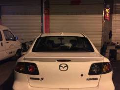 Спойлер. Mazda Mazda3 Mazda Axela, BK5P, BKEP, BK3P Двигатели: ZYVE, LFDE, L3VE, L3VDT, LFVE