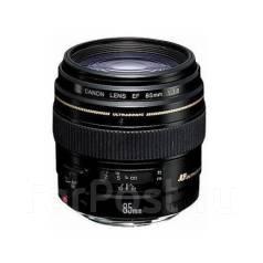 Объектив Canon 85mm F1.8. Для Canon, диаметр фильтра 58 мм