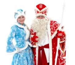Дед Мороз и Снегурочка на дом. Находка