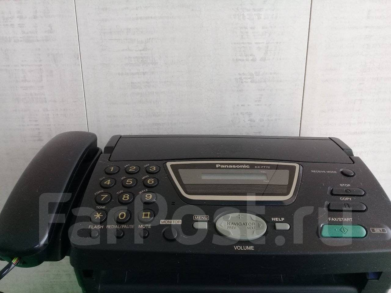 Факс panasonic инструкция kx ft908