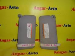 Козырек солнцезащитный. Suzuki Alto, HA24V, HA24S Suzuki Cervo, HG21S Suzuki MR Wagon, MF22S Двигатель K6A