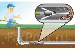 Прочистка канализаций труб засоров гидродинамическим слесарь сантехни