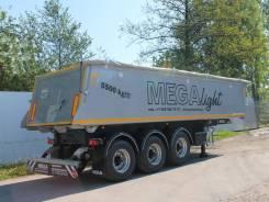 MEGA. Самосвальный полуприцеп вес 5500 , 34 500 кг.