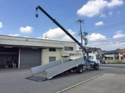 Nissan Condor. Бортовой грузовик с манипулятором , 7 000 куб. см., 5 000 кг. Под заказ