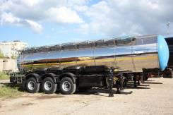 Foxtank ППЦ-25. Пищевые полуприцепы объем 25м3, 25 900кг.