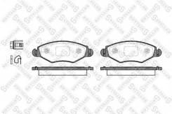 Колодки дисковые п.\ Peugeot 206 1.4/1.6/1.4HDi/1.9D 01>