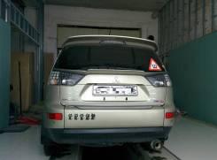 Спойлер. Mitsubishi Outlander