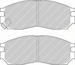 Колодки дисковые п.\ Chrysler Sebring. Mitsubishi Eclipse II 95>
