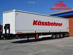 XS K.SCX X Multimodel, 2017. Шторно-бортовой полуприцеп Kassbohrer, 28 380 кг.