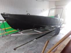 Казанка-2М. длина 5,00м., двигатель без двигателя