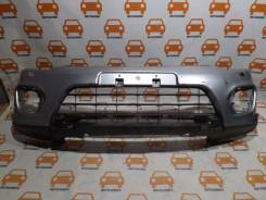 Бампер. Mitsubishi Pajero Sport, KS0W Двигатели: 6B31, 4N15