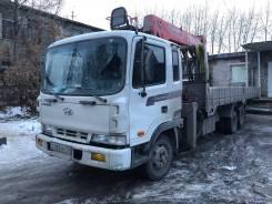 Hyundai Mega Truck. Продаётся Манипулятор Хундай, 3 000куб. см., 7 500кг., 6x2