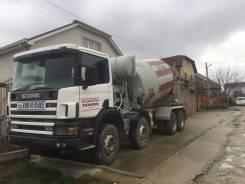 Scania. Бетоносмеситель P124, 11 705 куб. см., 10,00куб. м.