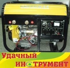 Генератор бензиновый сварочный Greenmax LTW-190B,5,5кВт, 2,5л/ч, бак25л