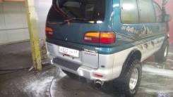 Дверь багажника. Mitsubishi Delica, PD8W, PA4W, PD4W, PD5V, PD6W, PA5W