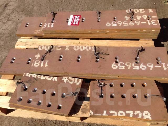 изготовление ножей для грейдеров volvo