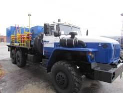 Урал 4320. Агрегат цементировочный ЦА-320 на шасси -60., 3 000 куб. см., 10 000 кг.