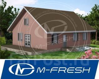 M-fresh Tili-Tili (Посмотрите этот вариант проекта маленького дома! ). 100-200 кв. м., 1 этаж, 3 комнаты, бетон