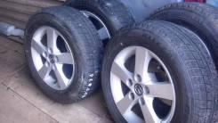 Комплект колёс -Оригенальные Мазда. 6.0x15 5x114.30 ET-44 ЦО 73,0мм.