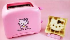 Тостер Hello Kitty розовый