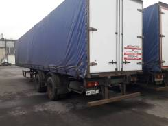 МАЗ 938662. Полуприцеп -13, 22 800 кг.