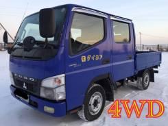 Mitsubishi Canter. Двухкабинник 4 WD , 2008 г. в. Категория В, 3 000 куб. см., 2 000 кг.