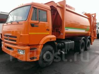 Рарз МК-4442-08. МК-4444-08 на шасси КамАЗ-65115-773081-42 Мусоровоз б/к кузов, портал, 100 куб. см.
