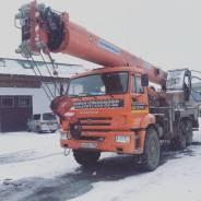 Услуги Кран автокран Вездеход 25 тон стрела 31 метр