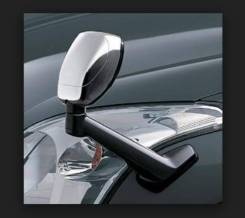 Накладка на зеркало. Toyota Land Cruiser Prado, TRJ120W, KZJ95W, GDJ150L, GRJ150W, RZJ95W, GDJ150W, GRJ125W, KDJ150L, KDJ120W, VZJ95, GRJ120W, VZJ120W...