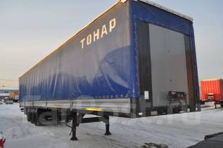 Тонар 974611. Полуприцеп тентованный Тонар 2013 г. в. в наличии, 20 000 кг.