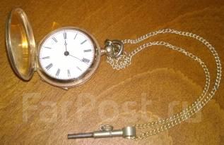 Часы женские карманные с заводным ключом фирмы Tobias Швейцария. Оригинал. Под заказ