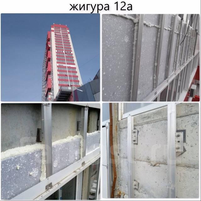 Утепление стен керамогранит, алюкобонд, вентилируемые фасад от 2500р/м