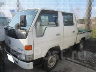 Toyota Dyna. Продам без ПТС 96 г. рама LY151 двс-3L. Двыхкабиник., 2 800 куб. см., 1 000 кг.
