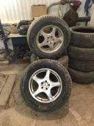Колеса Mercedes r18 на зимней резине. 8.0x18 5x112.00 ET44