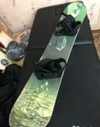 Сноуборд комплект с ботинками Atom