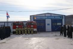 Пожарный. 49 пожарно-спасательная часть. С.Барабаш, улица Восточная слобода 24