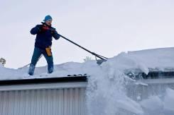 Уборка снега; колка дров