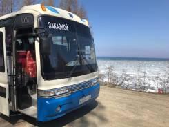 Kia Granbird. Автобус kia, 120 000 куб. см., 45 мест