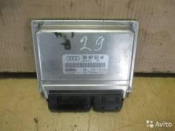 Блок управления двс. Audi S6, 4B2, 4B4, 4B5, 4B6 Audi A4 Audi A6, 4B2, 4B4, 4B5, 4B6, C5, 4B/C5 Двигатели: ACK, AEB, AFB, AFN, AFY, AGA, AGB, AGE, AHA...