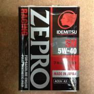 Idemitsu Zepro Racing. Вязкость SAE 5W-40, синтетическое