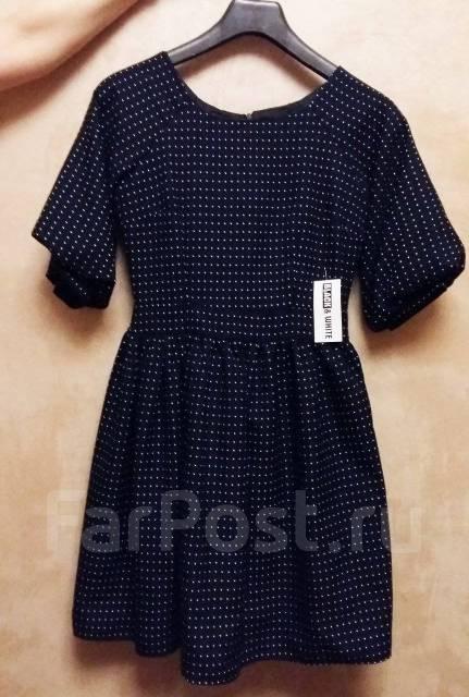 1dd032c7190 Красивое платье в горошек с шикарным красным бантом из Ю. Кореи ...