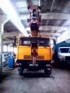 Камаз. Автокран, 10 000 куб. см., 32 000 кг., 24 м.