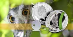 Ниуэ 1 доллар 2017 Сова. Птица. Серия 'Мудрость - Мир твоей души'