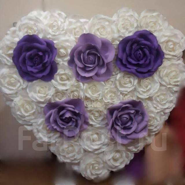 Фотозоны, украшение свадеб и мероприятий, выпускной, большие цветы.