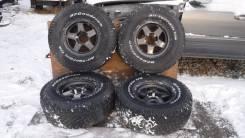 """Большие колеса с Toyota Land Cruiser 100 R16. 8.5x16"""" 5x150.00 ET-7"""