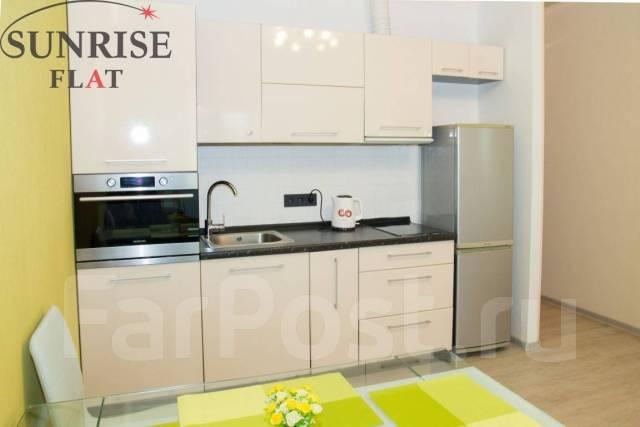 1-комнатная, проспект Красного Знамени 117д. Третья рабочая, 42 кв.м. Кухня