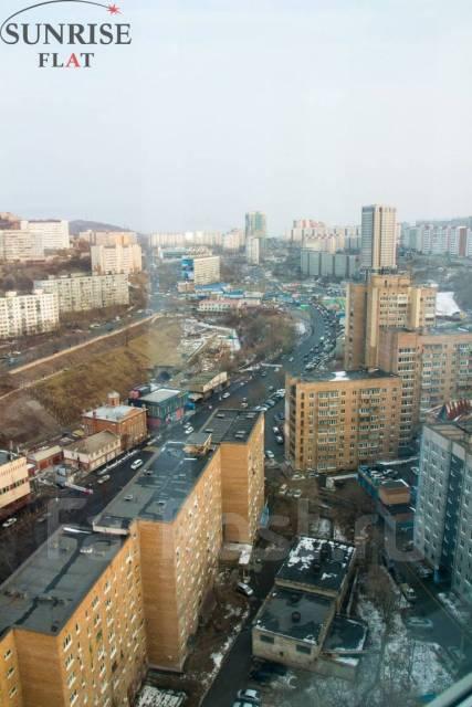 1-комнатная, проспект Красного Знамени 117д. Третья рабочая, 42 кв.м. Вид из окна днем
