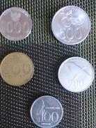 Индонезия монеты одним лотом