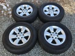 Готовый комплект колес 265/65R17 оригинал TLC Prado 150. 7.5x17 6x139.70 ET25 ЦО 106,0мм.